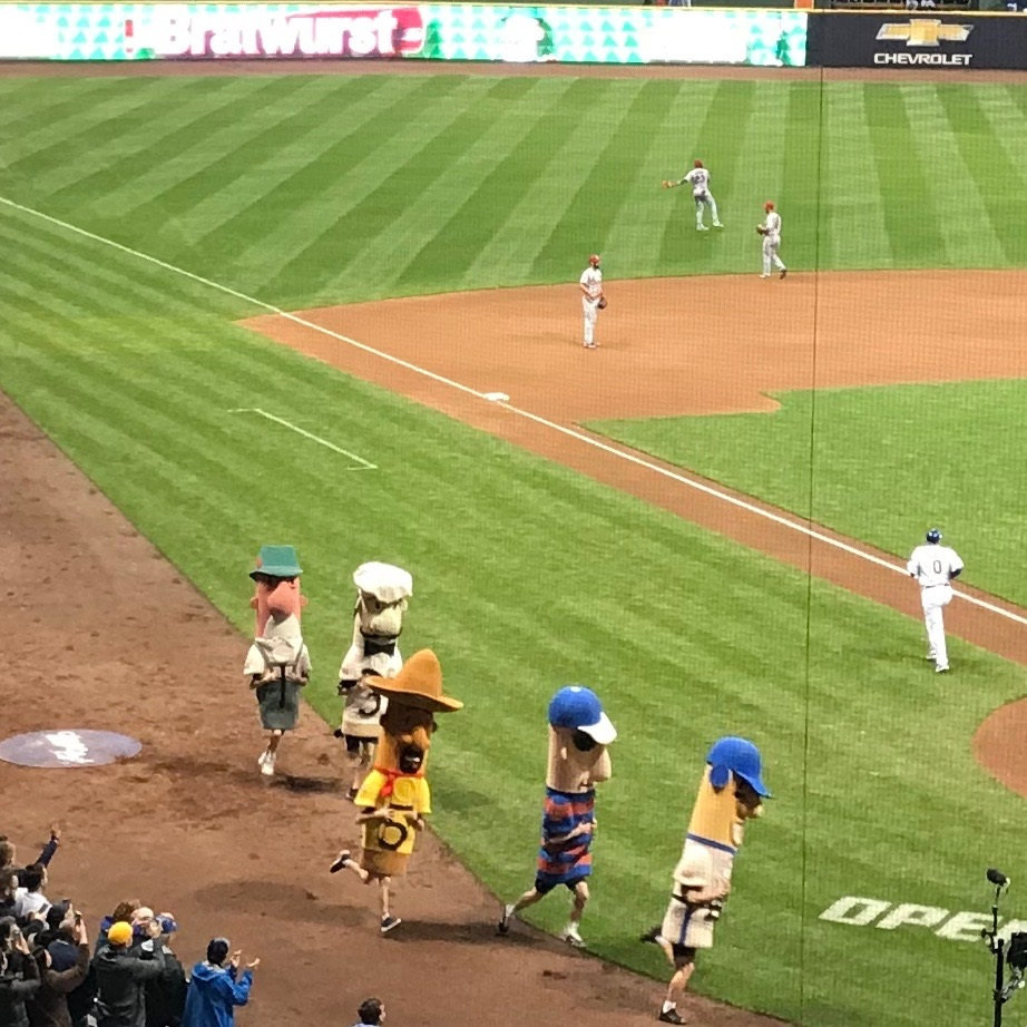 Brewers' Sausage Race