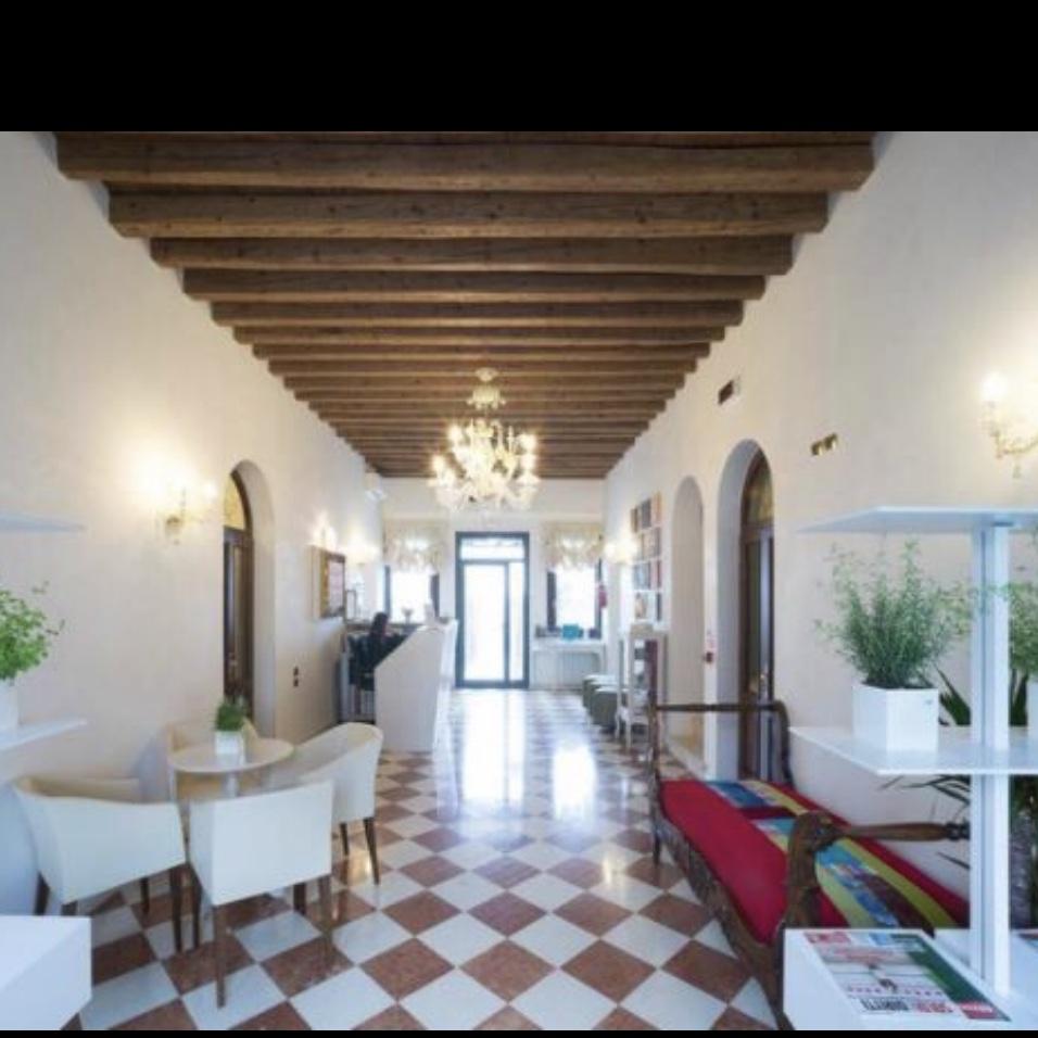 Lobby of Villa Gasparini