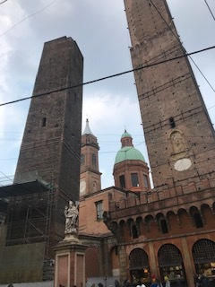 Leaning Towers in Bologna