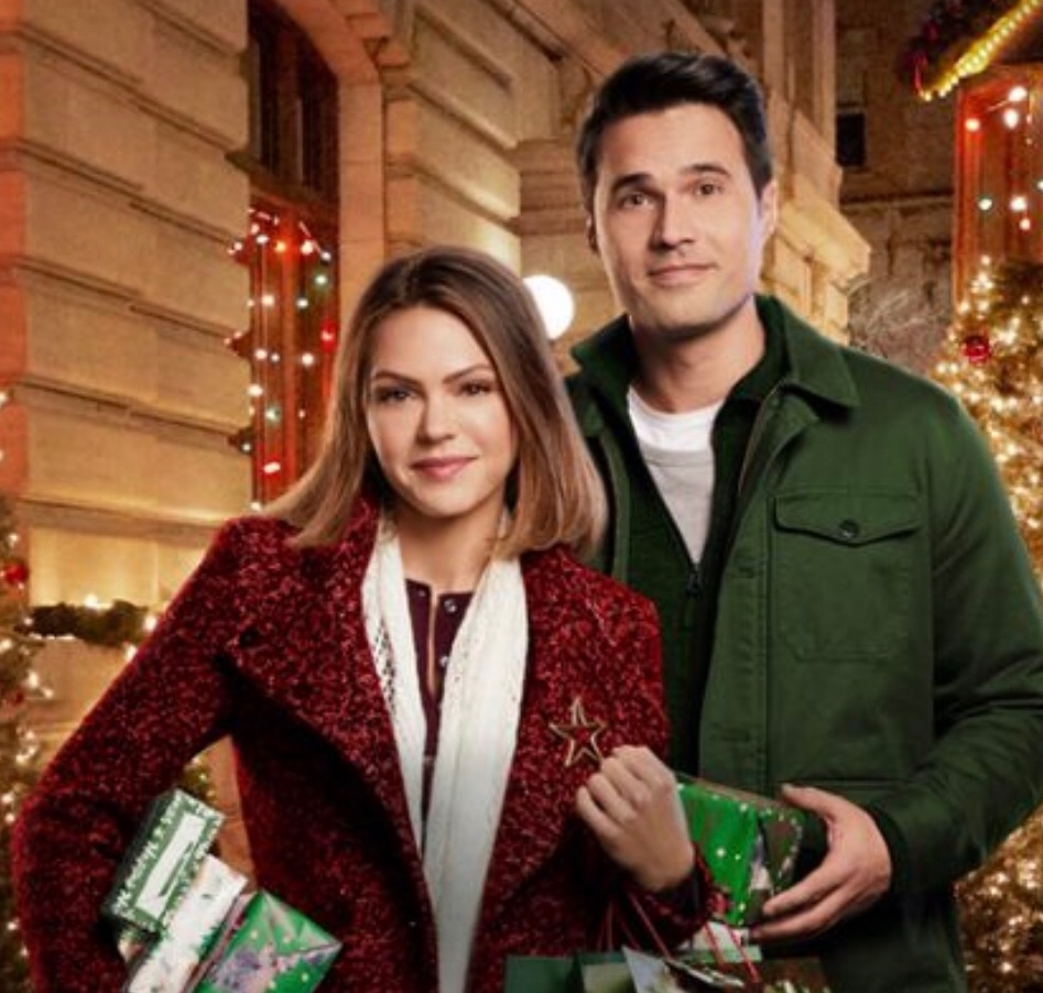 Aimee Teegarden and Brett Dalton In Once Upon a Christmas Miracle -  Winner of the de Bourgh Award for Worst Movie
