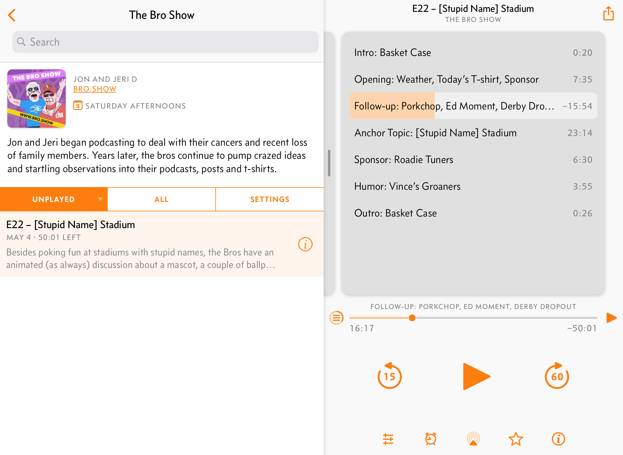 Sponsor Overcast Has Best Podcast Player