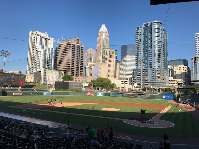 BB&T Ball Park in Charlotte