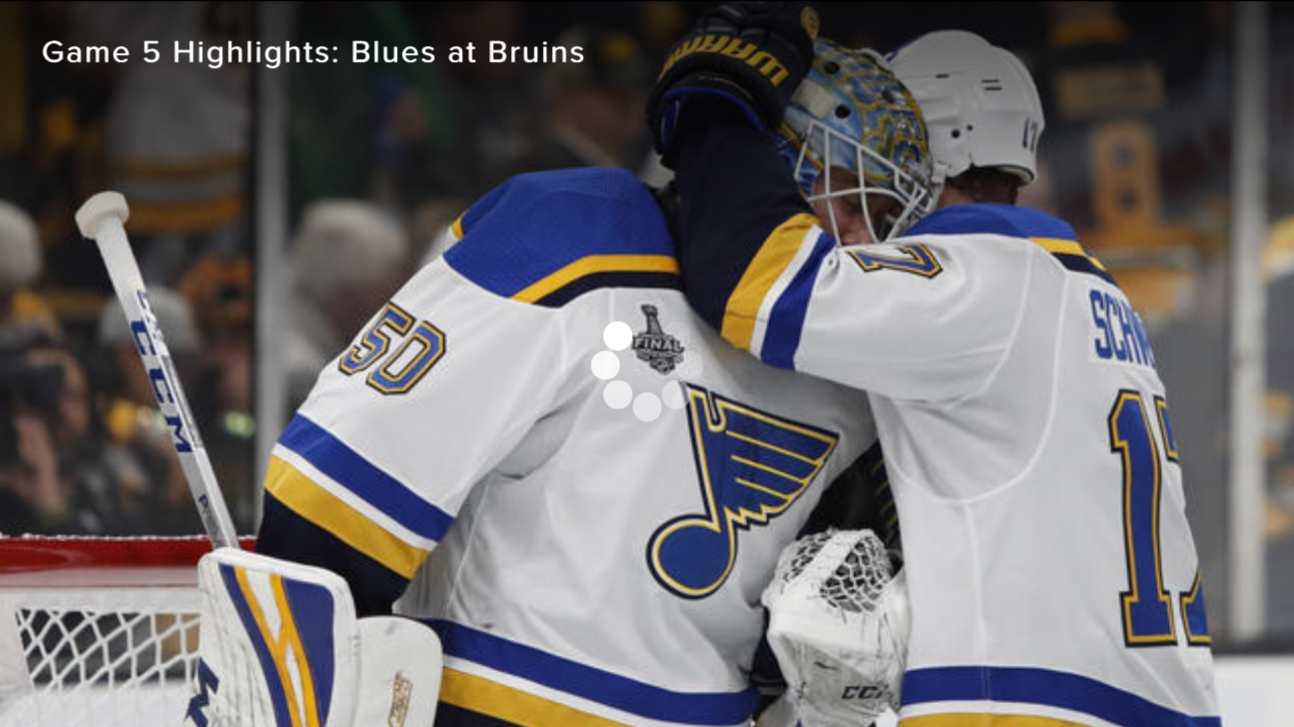 The Blues and the Bruins at 3-2