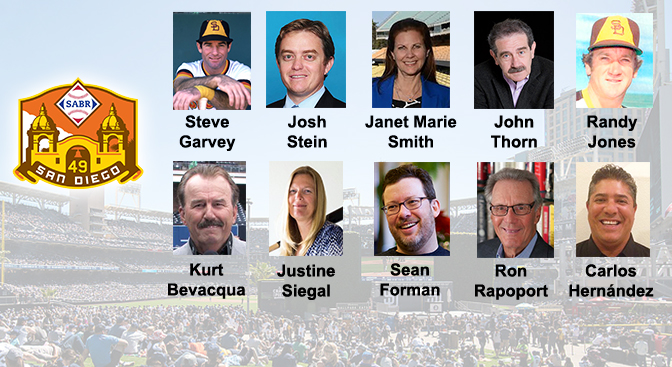 Speakers for the SABR convention