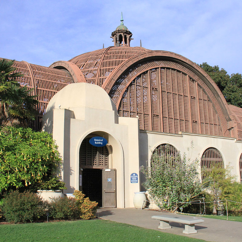 Botanical Gardens at SD's Balboa Park