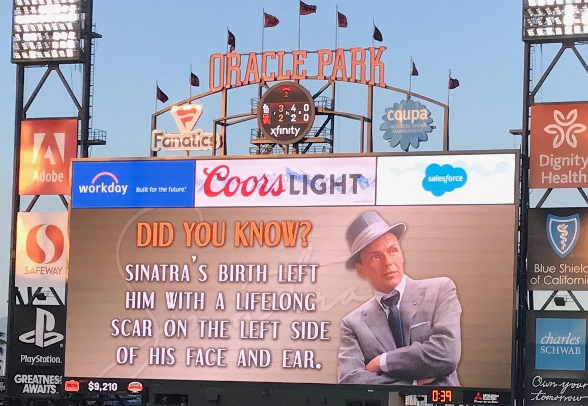 Jon enjoys Sinatra night in SF