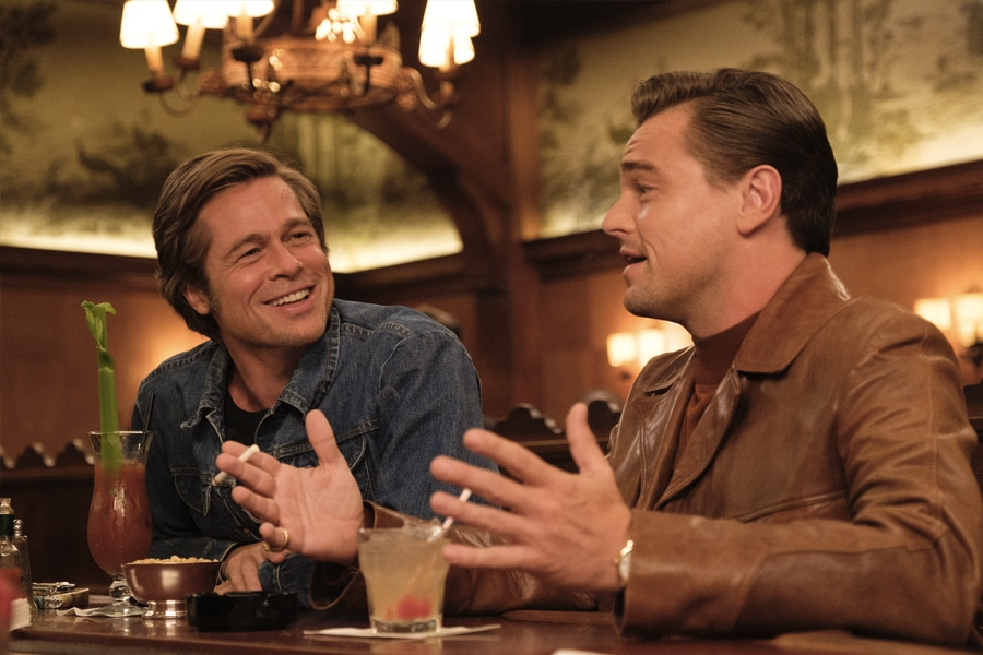 Pitt and DiCaprio discuss career options