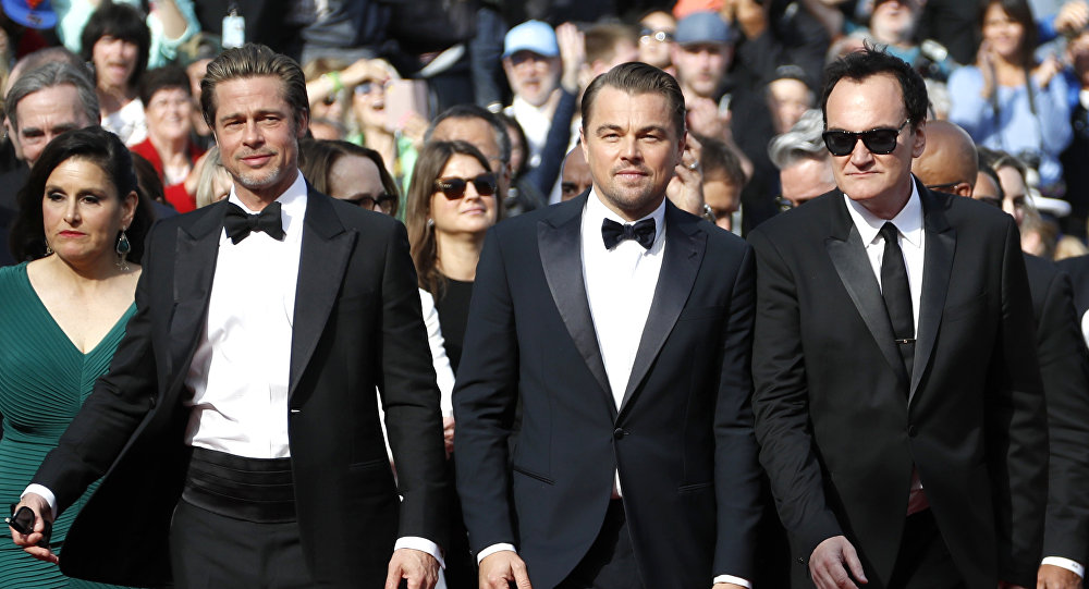 Pitt, DiCaprio, and Tarantino suit up