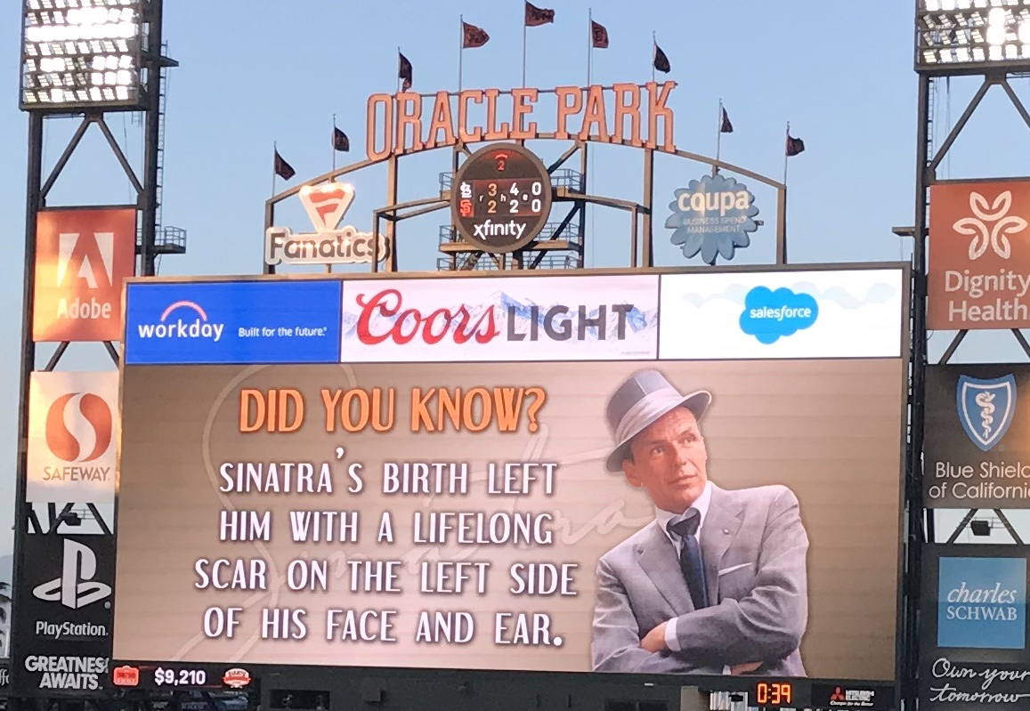 Sinatra Night at Giants Park