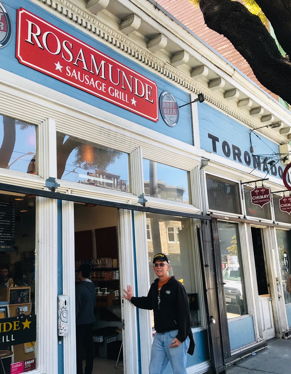 Rosamunde Grill in Lower Haight