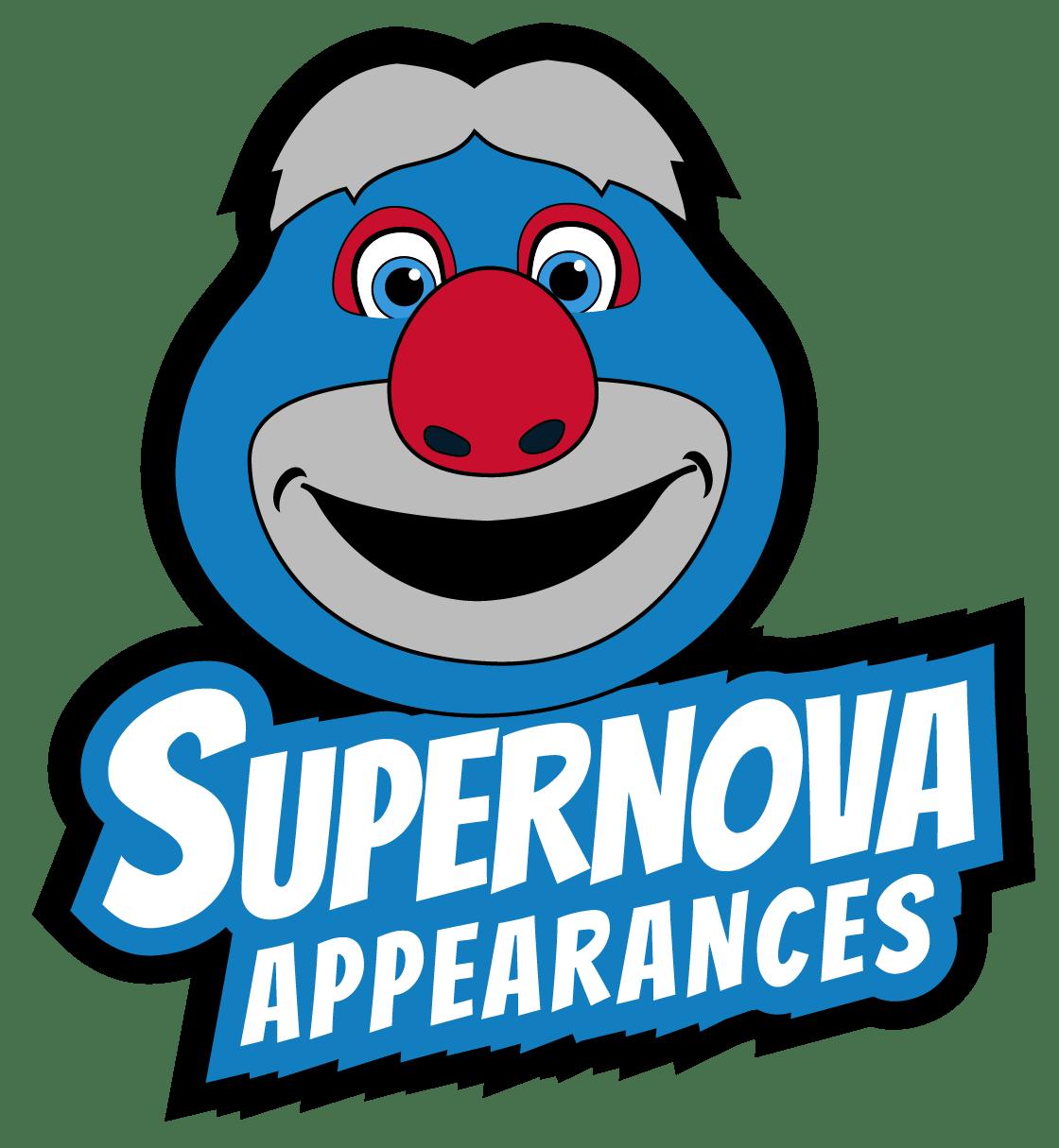Chicago Reds' Supernova Mascot