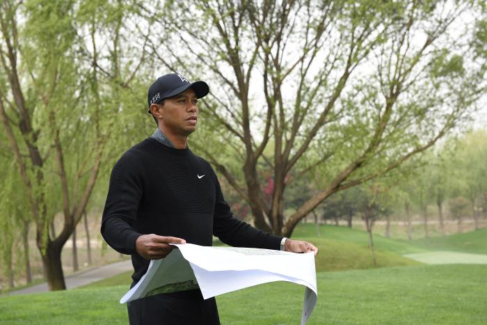 Tiger tries to design a course for Chicago
