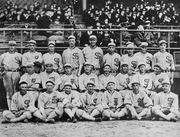 The full 1919 White Sox Team