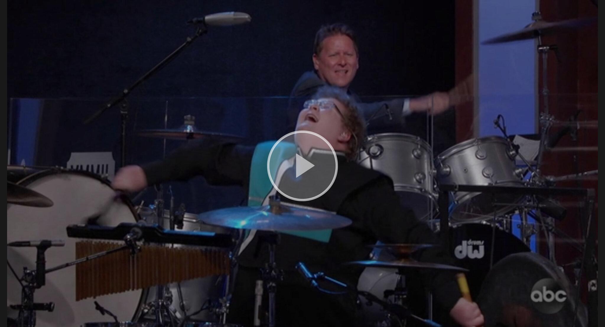 Viral drummer kid
