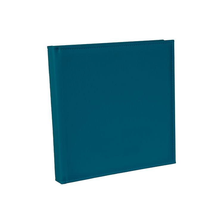 turquoise FIJN LEDEREN COVER - * Zonder Lasertext