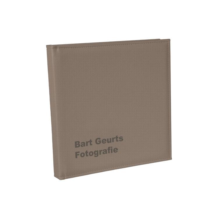 OLIFANTENGRIJS GROF LEDEREN COVER - * Met of zonder Lasertext