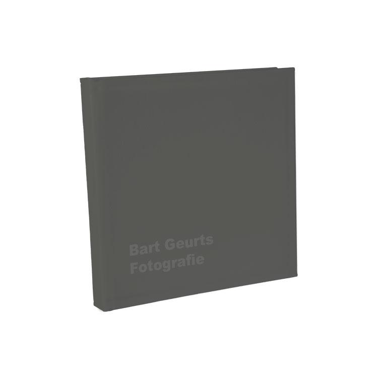 GRIJS SUèDE COVER - * Met of zonder Lasertext
