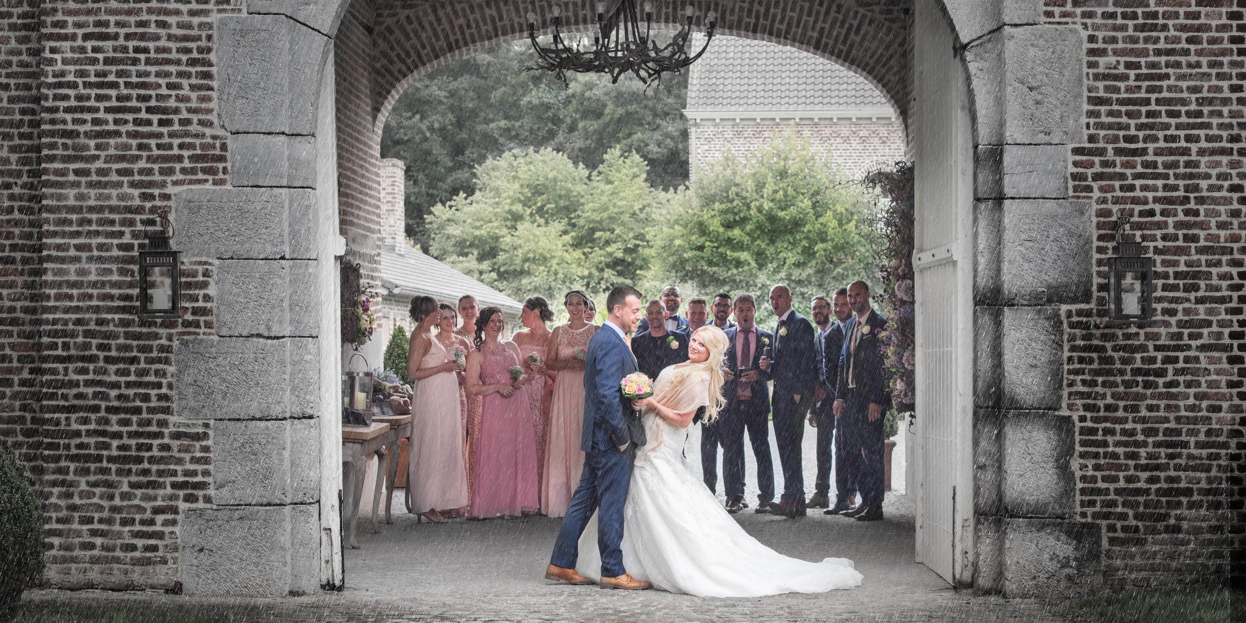 Huwelijksfotograaf Limburg Bilzen - Het Fonteinhof, Borgloon