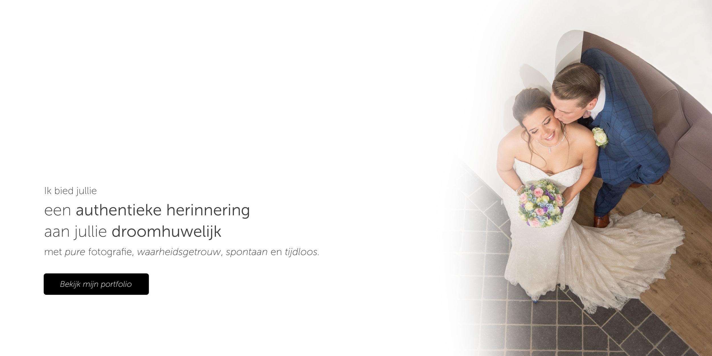 een authentieke herinnering aan jullie droomhuwelijk