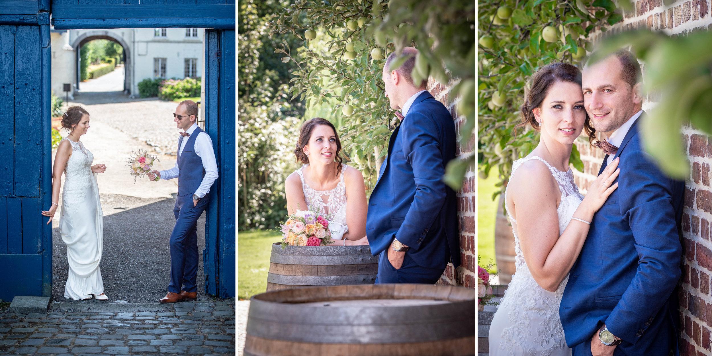 Huwelijksfotograaf, Bilzen, België - Het Fonteinhof, Borgloon