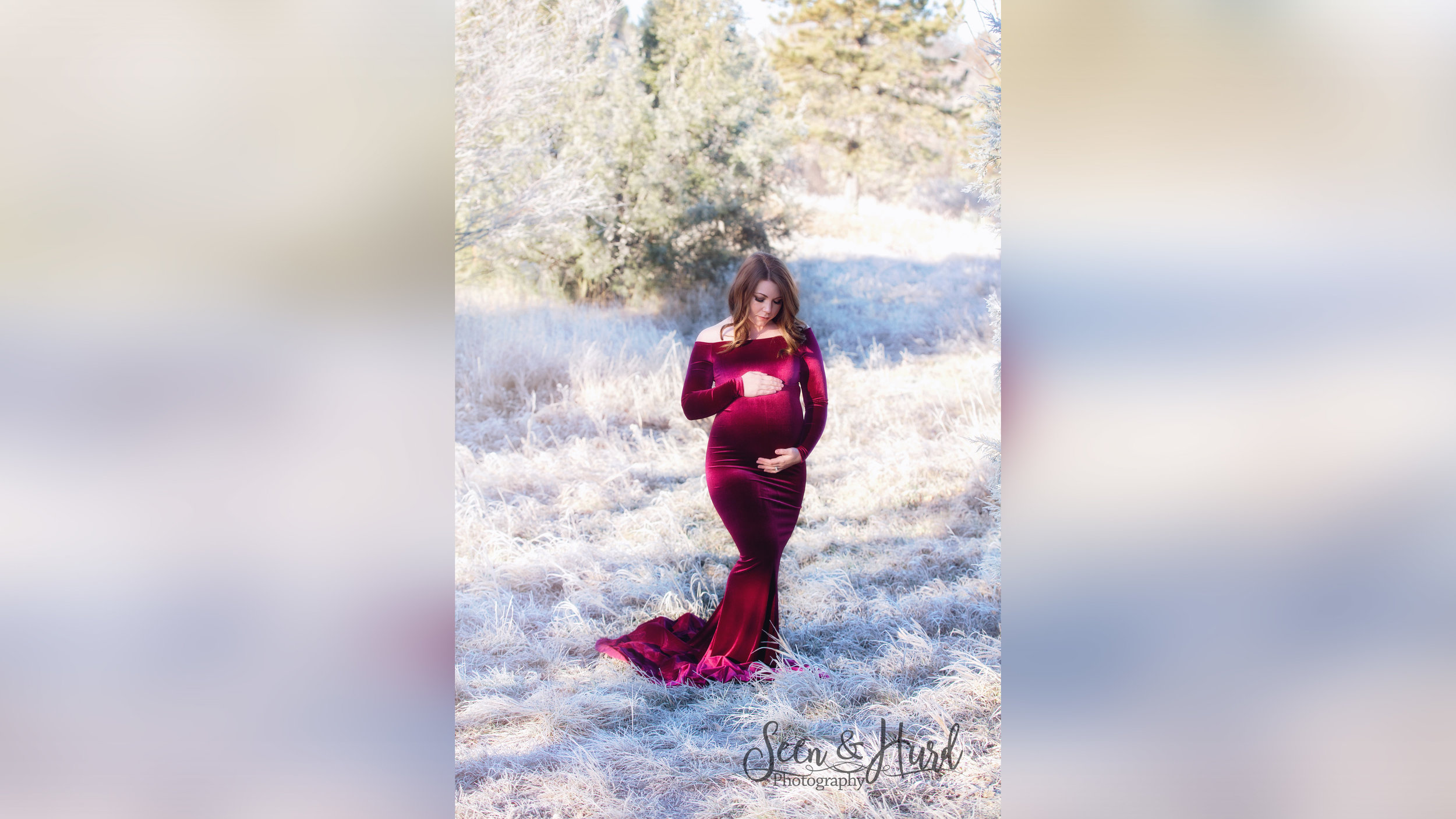 Lucia Gown - Raspberry