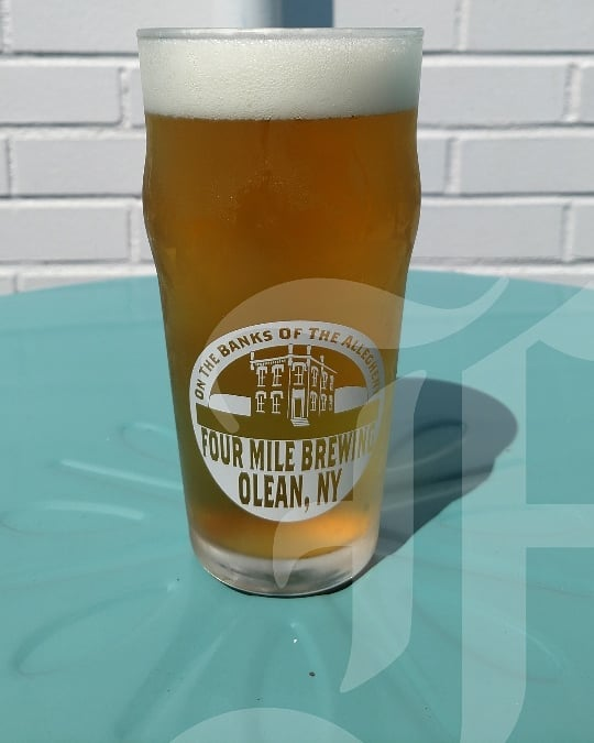 New beer on draught! Four Mile Brewing's Man On The Moon IPA! Stop in and try one before its gone!