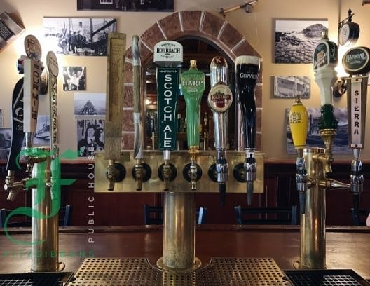 With the help of some friends we officially have all 12 taps up and running again! Stop in today for a pint, open until 9. 🍻