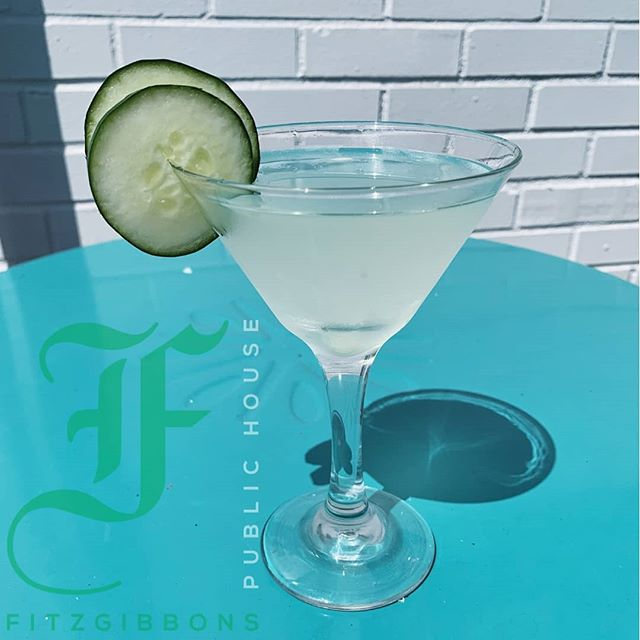 Stop in today for a fish fry and try our new and extremely refreshing cucumber martini while you are here!