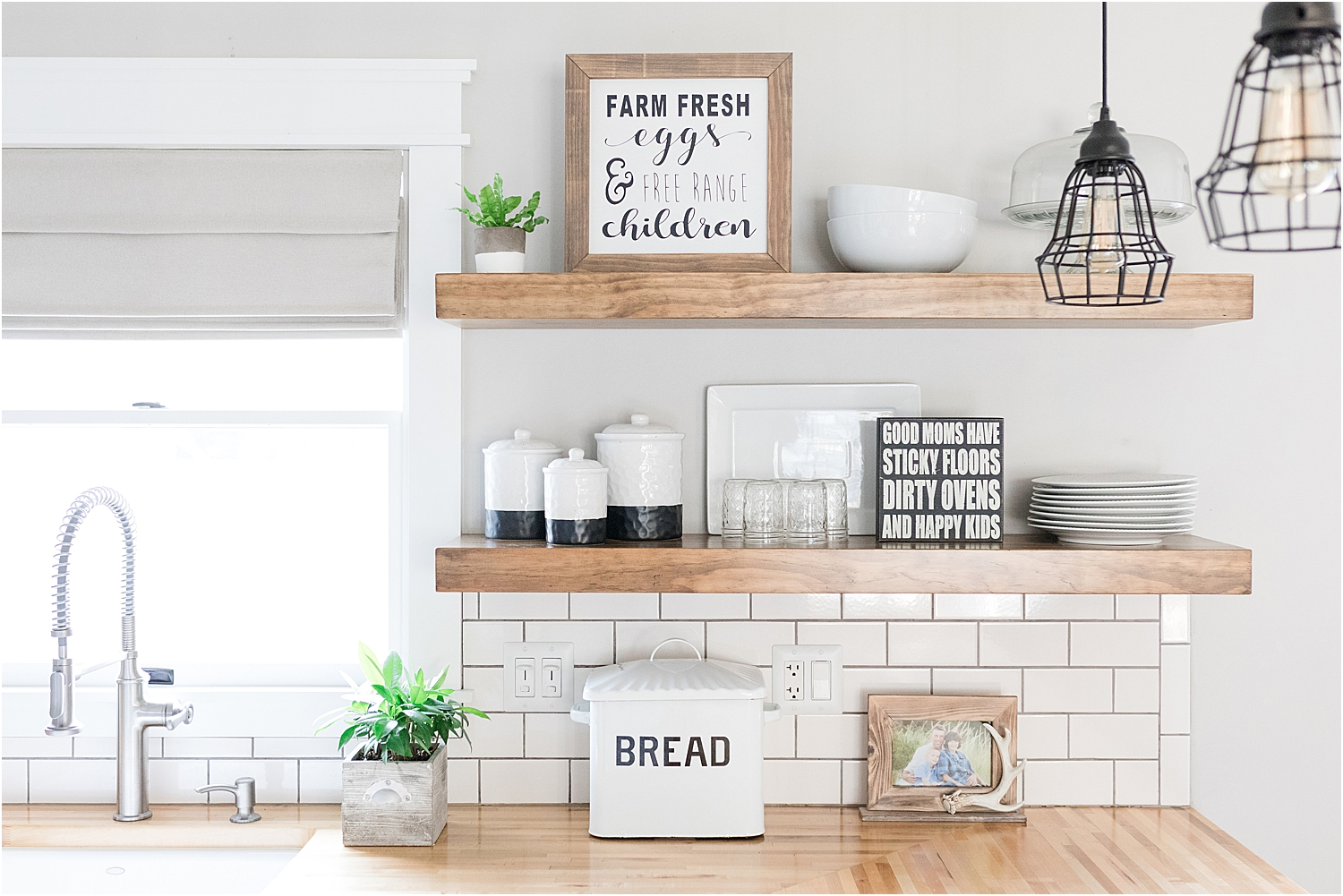 FLOATING SHELVES - CUSTOMIZE A SHELF TO FIT YOUR SPACE AND STYLE.