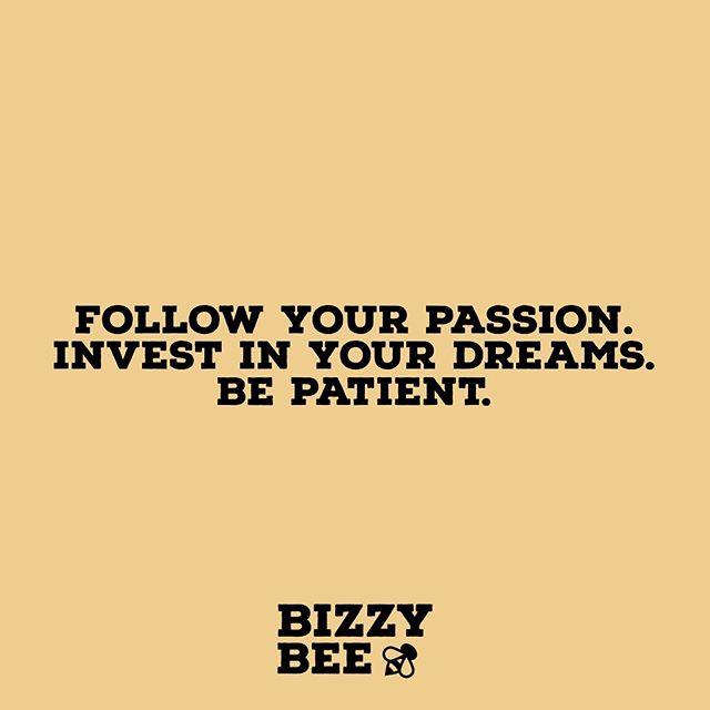 Be patient. ✨ #BizzyBeeNY