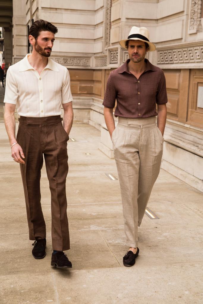Dormer Linen Trouser -