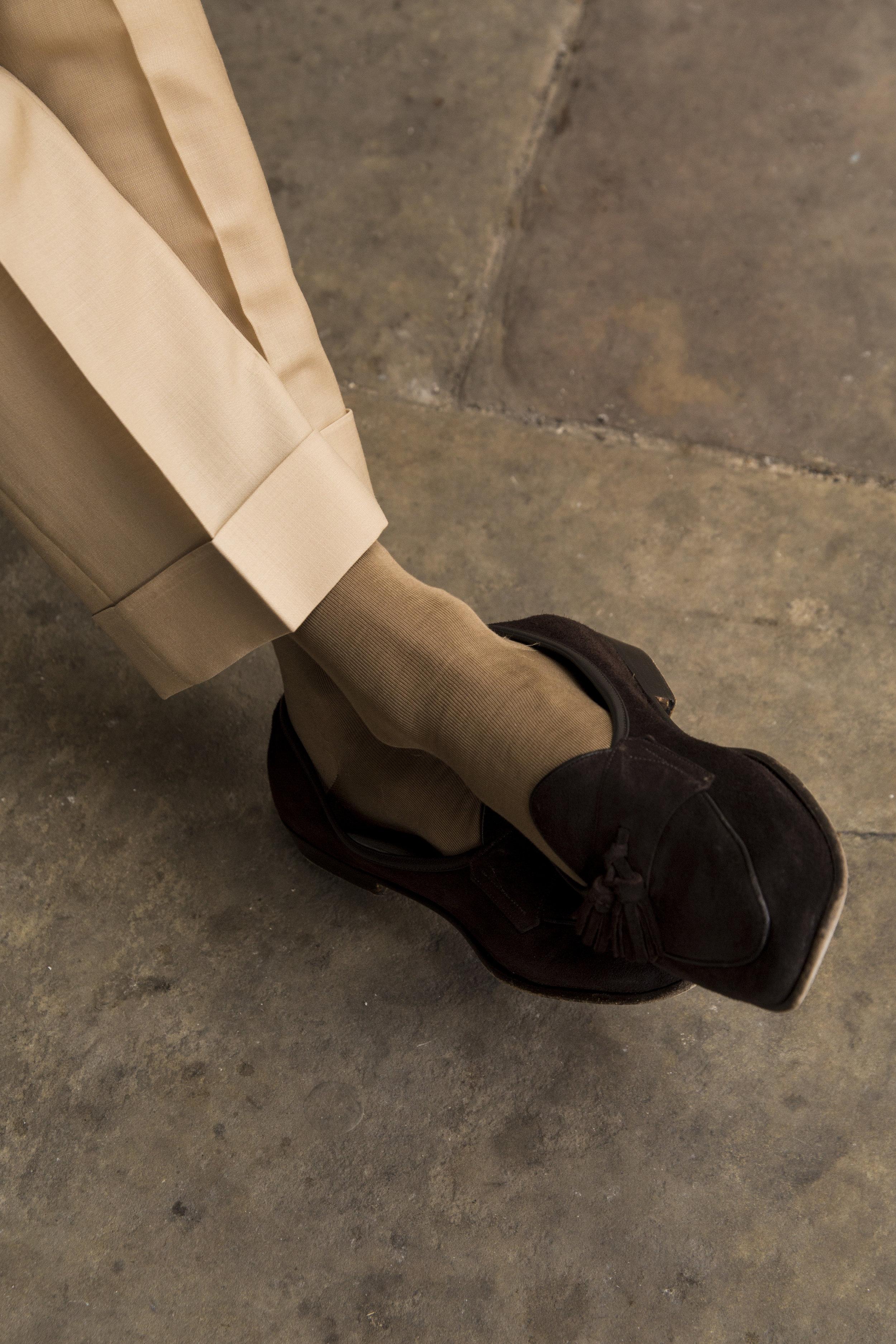 Grosvenor Trouser - 60% Merino Wool 40% Mohair
