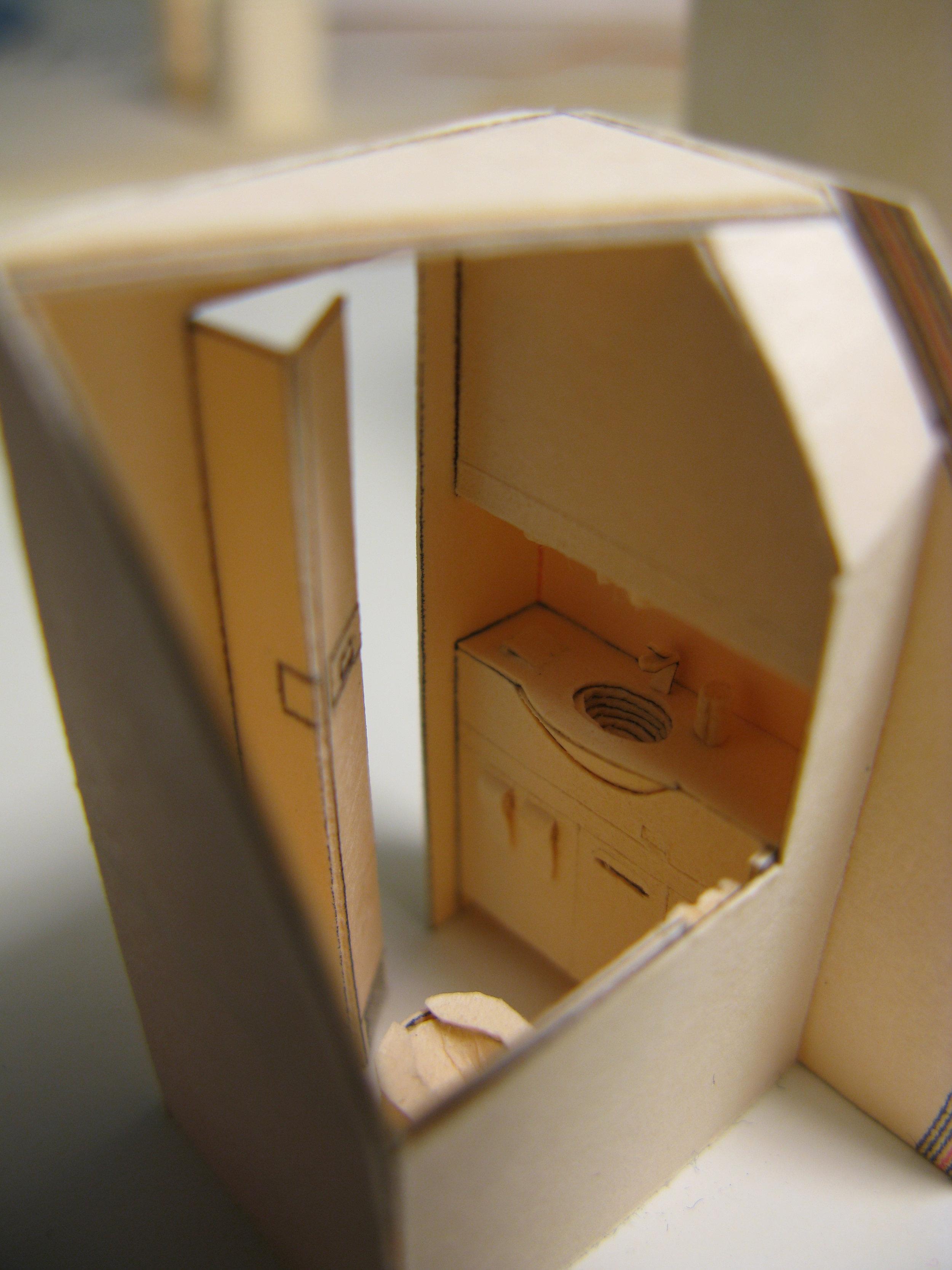 Close-up of a lavatory