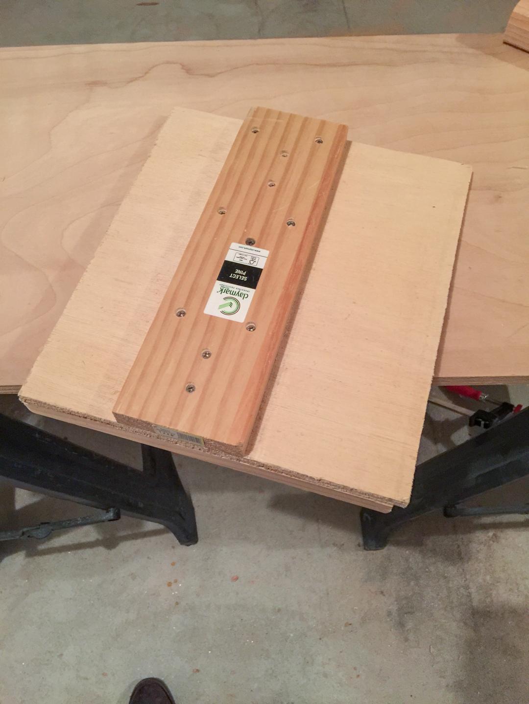 First Workbench - Circular Saw Jig
