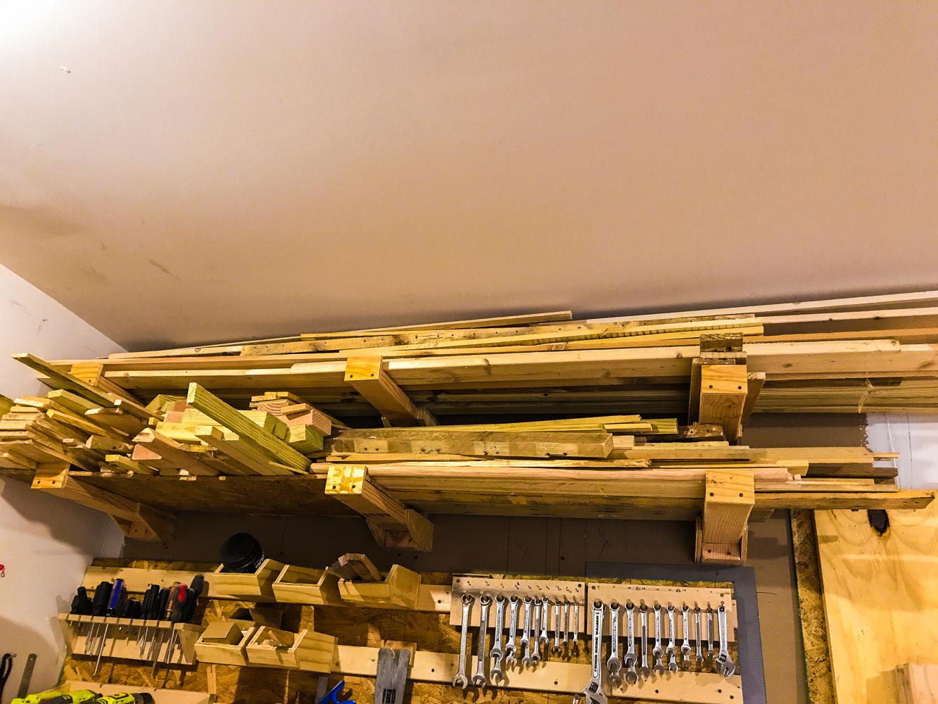 Lumber Cart - Old Lumber Rack Issues