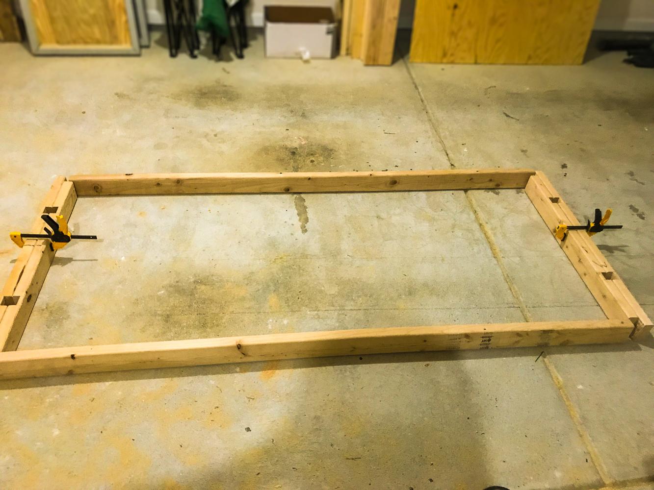 Lumber Cart - Lower Frame Assembly