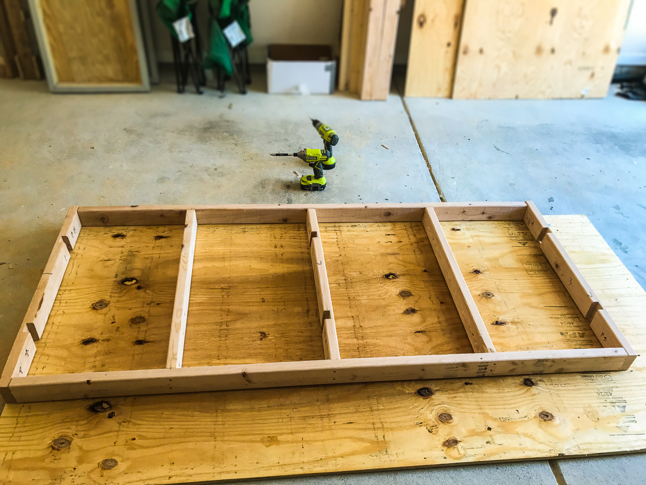 Lumber Cart - Lower Floor Sizing