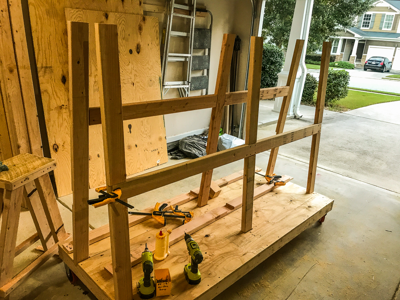 Lumber Cart - Full Frame Complete