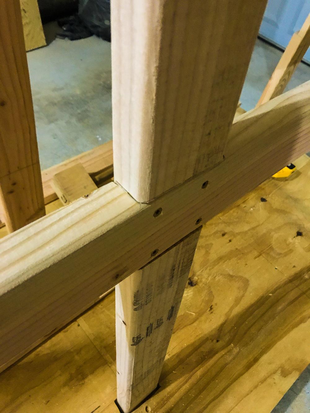 Lumber Cart - Vertical Frame Secured