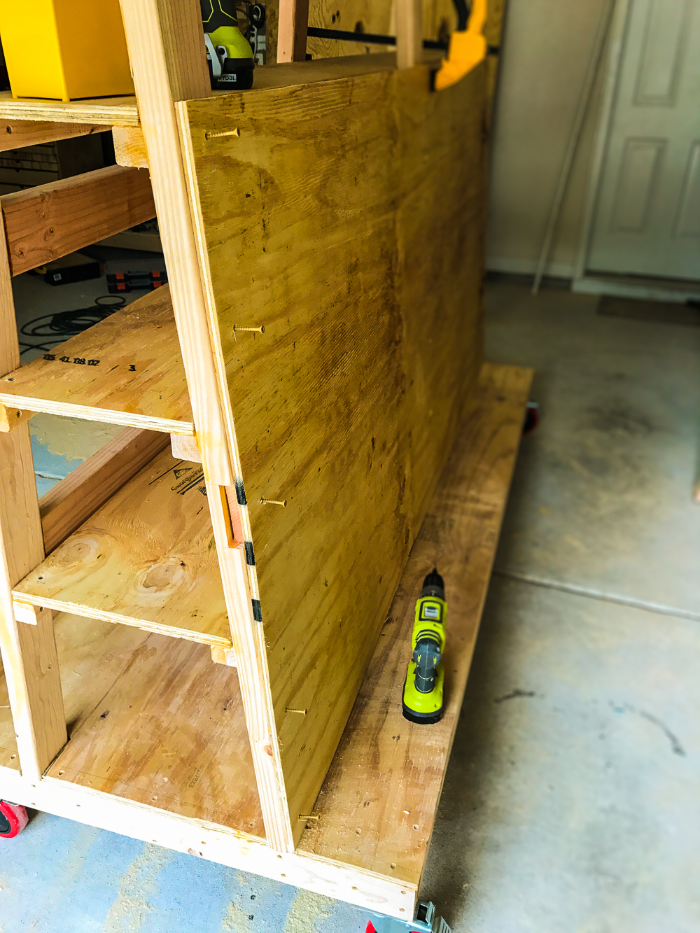 Lumber Cart - Ply Side Install
