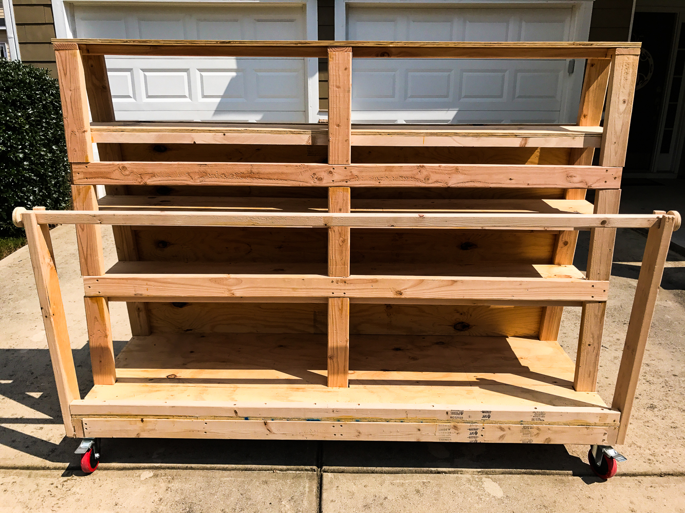 Lumber Cart - Ply Side Finished