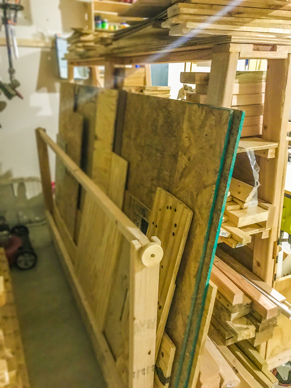 Lumber Cart - Ply In Use