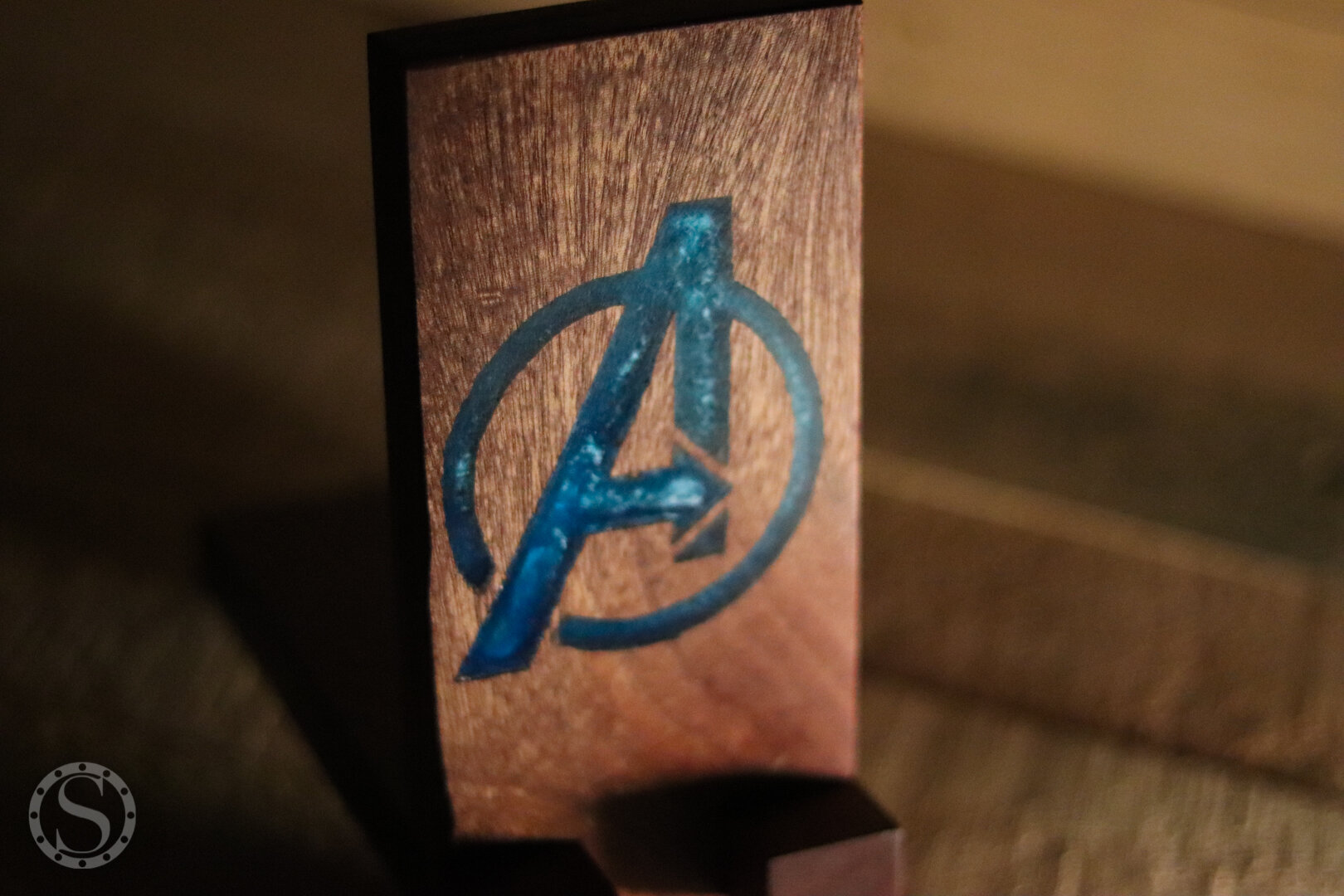 Avengers Phone Holder - Detail Finished Shot 2
