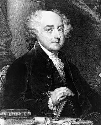 President John Adams. (Wikimedia Commons)