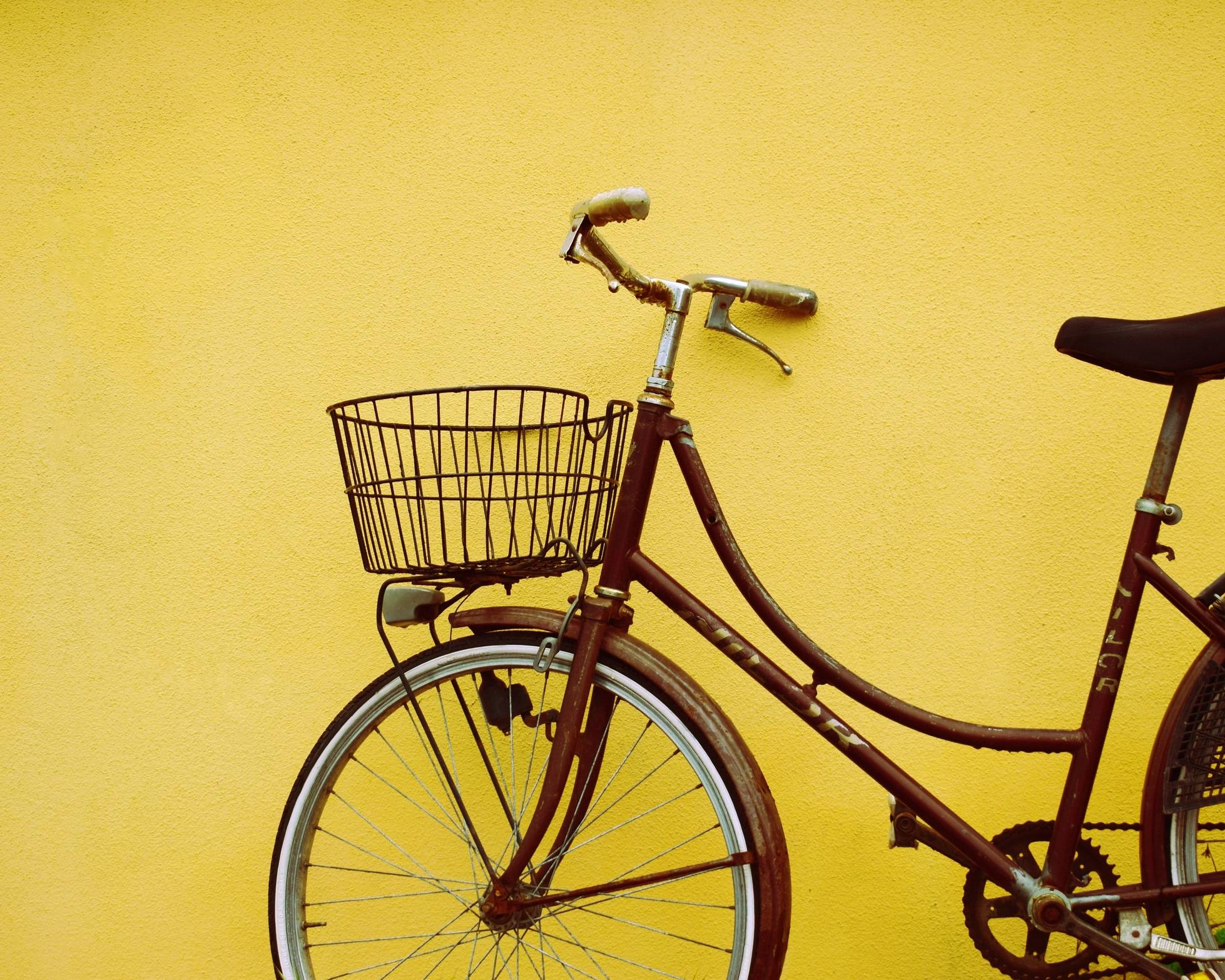 biking. -