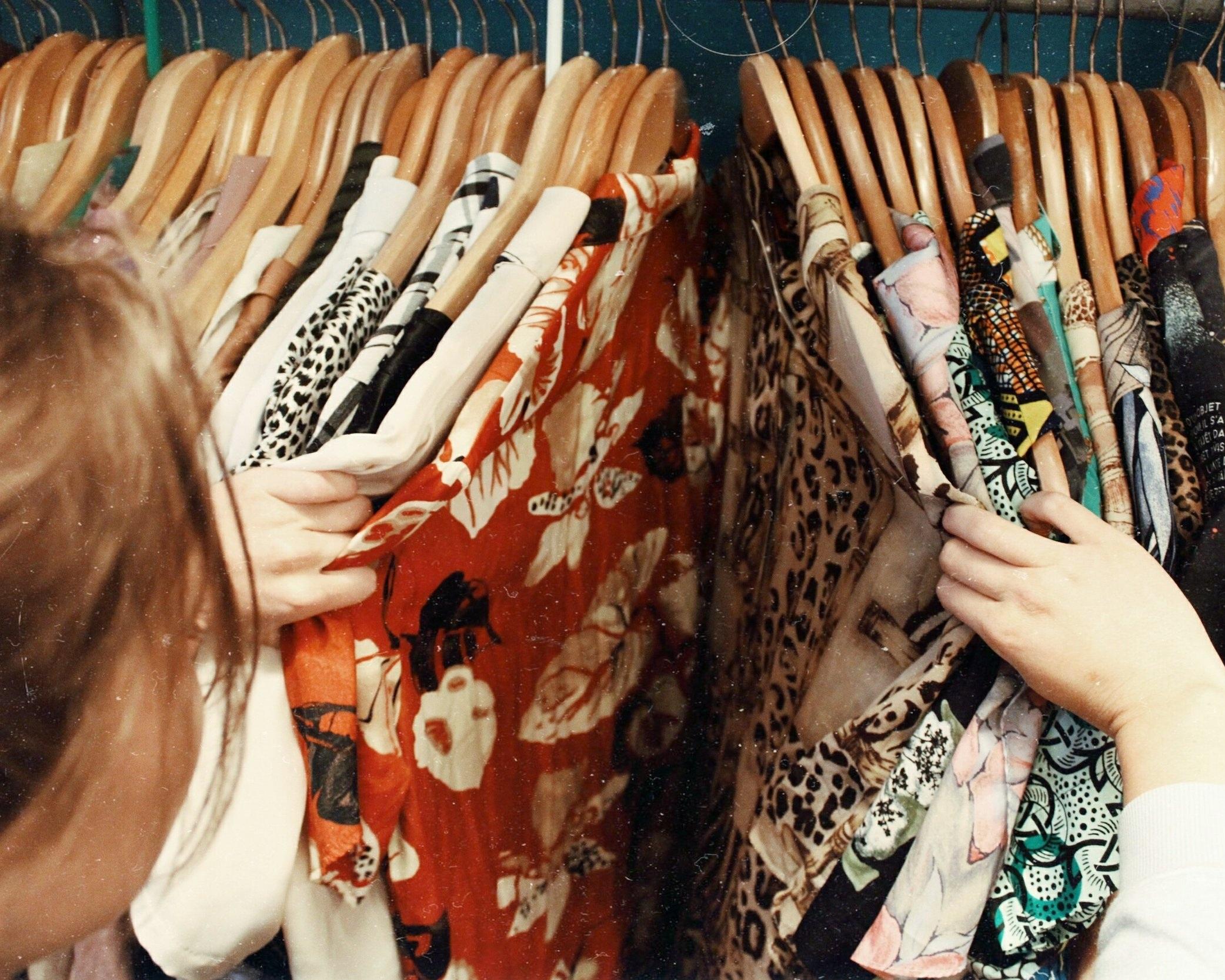clothing. -