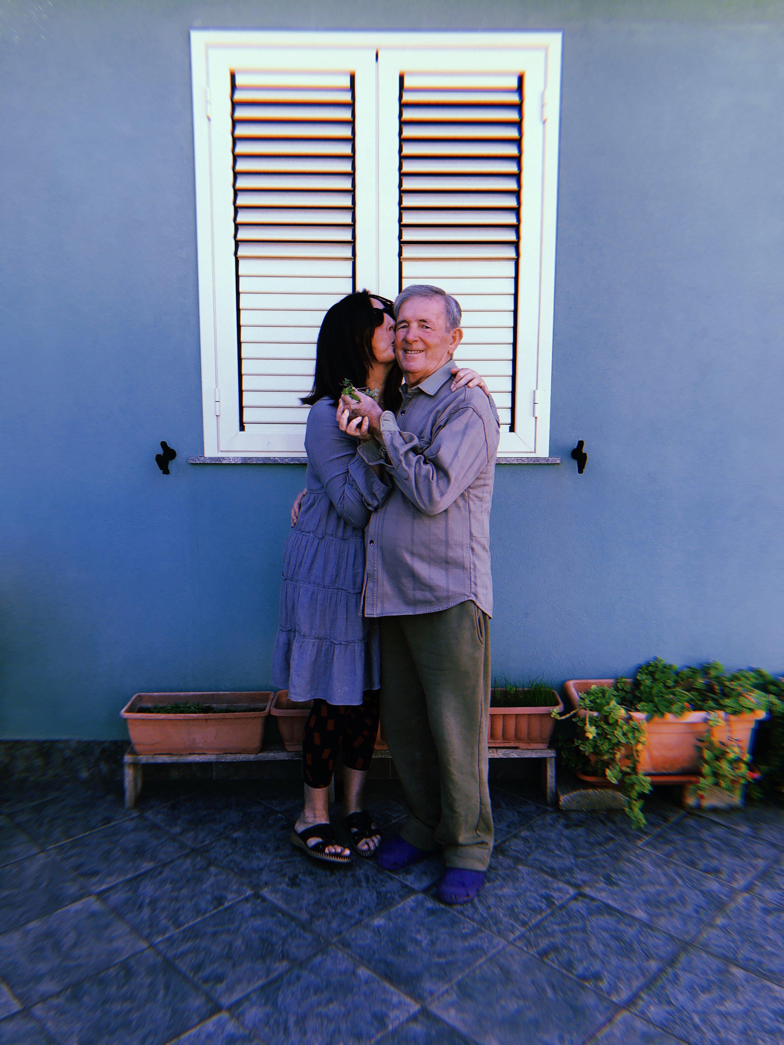 Doriana and Massimo Pagani, Lido di Noto — November 2018.