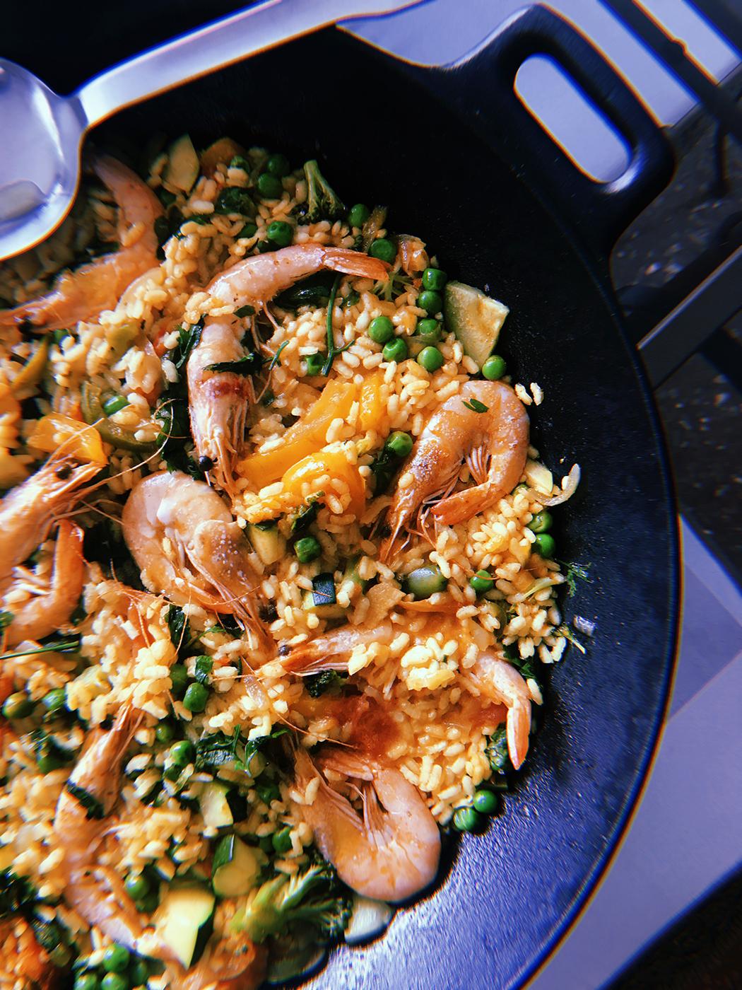 - Andalucía Seafood Paella