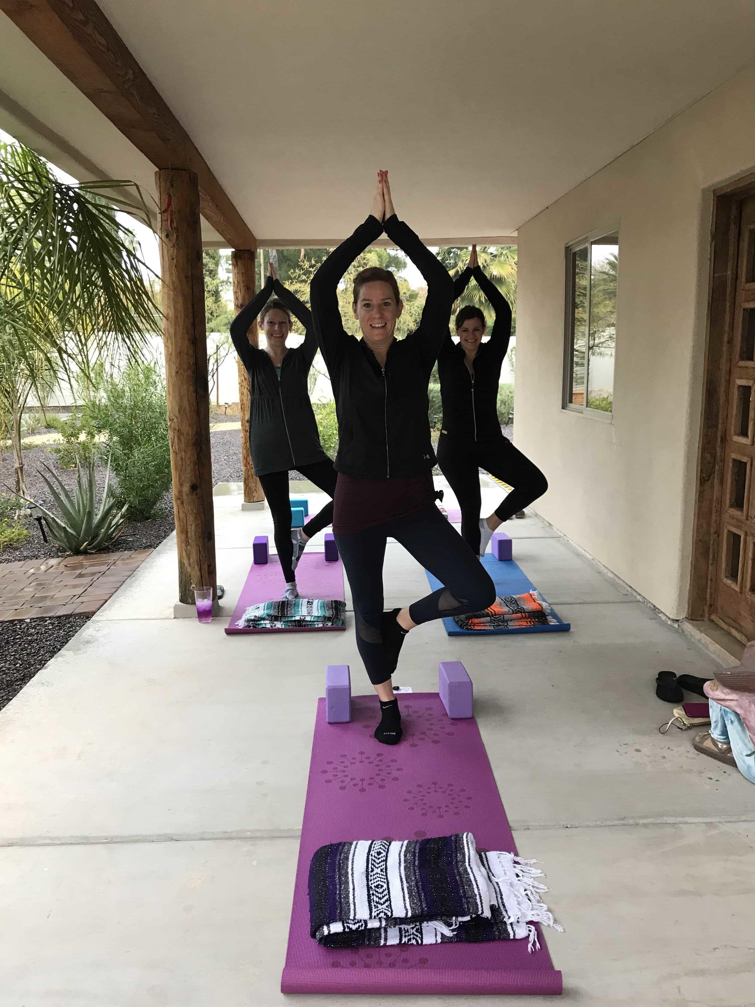 Private Group Yoga Phoenix AZ