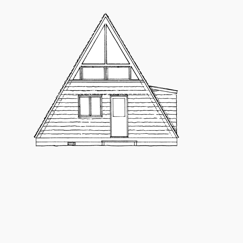 A-Frame Cabins - These adorable cabins include a queen size bed, electricity, heater and firepit perfect for enjoying the outdoors.